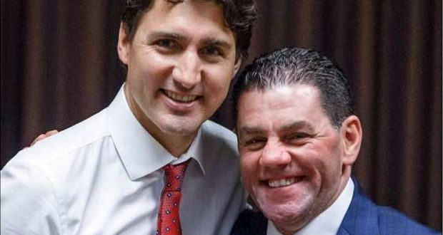 Mohamad Fakih and Justin Trudeau