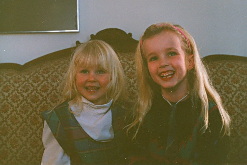 Sisters Emily and Julia Lyons